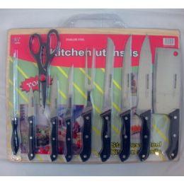 12 Units of 10pc Knife Set - Kitchen Knives