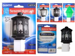 96 Units of Led Night Light 2asst Design Blist - Night Lights