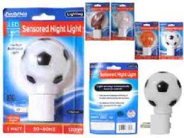 96 Units of Led Night Light 4 Assorted Design - Night Lights