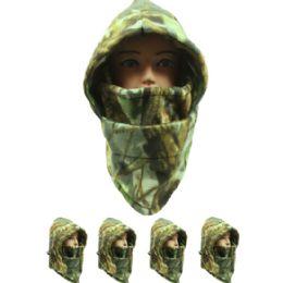 36 Units of Unisex Winter Camouflage Ninja Winter Hat - Fashion Winter Hats
