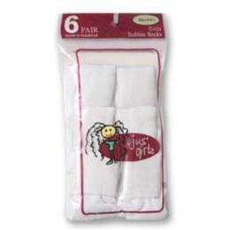 36 Bulk Kid's Socks Assorted Sizes Of 4-6