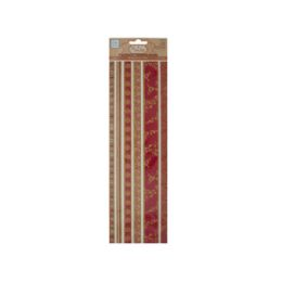 180 of Reds Decorative Fabric Borders Stickers