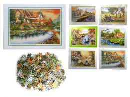 48 Units of Puzzle 500pcs - Puzzles