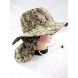 48 Units of Men's Camo Summer Bucket Hat - Hunting Caps