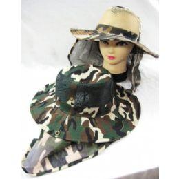 48 Units of Men's Camo Summer Hat - Hunting Caps