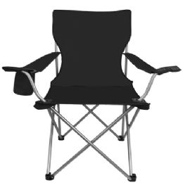 6 Units of All Star Chair Black - Camping Gear