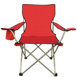 6 Units of All Star Chair Red - Camping Gear