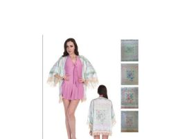 72 Units of Womens Cover Up With Croshey - Women's Cover Ups