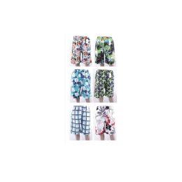 48 Units of Mens Fashion Bathing Suit Assorted Colors - Mens Bathing Suits