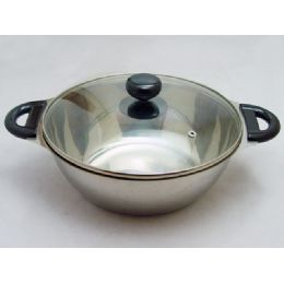 12 Units of 24cm Hot Pot - Stainless Steel Cookware