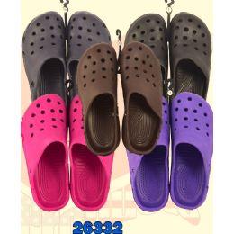 36 Units of Ladies Garden Shoes - Women's Flip Flops