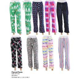 96 Units of Ladies Pajama Pants Assorted Styles - Women's Pajamas and Sleepwear