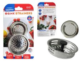 96 Units of D Sink Strainers And Stopper 3 Piece - Strainers & Funnels