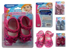 72 Units of Baby Shoe Bee Design - Baby Accessories