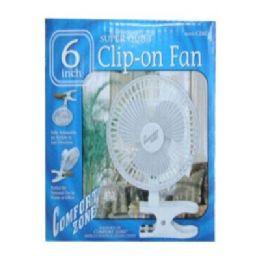 """36 of 6"""" Clip -On Fan"""