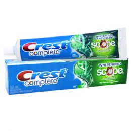 48 Units of Crest Toothpaste 165 Ml With Scope Oulst - Toothbrushes and Toothpaste