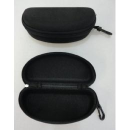 120 of Zippered Glasses Case [solid Black]