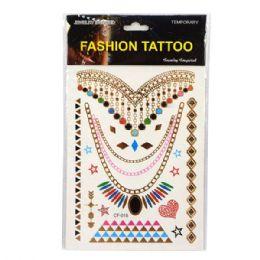 120 Units of Fashion Tatoo - Tattoos and Stickers