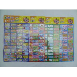 144 Units of 48pc Reward Stickers - Tattoos and Stickers