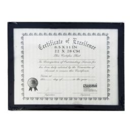 """48 Units of Certificate Frame 8.5""""*11"""" - Picture Frames"""