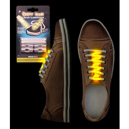 288 Units of Glow Shoe Laces - Yellow - LED Party Supplies