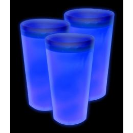 72 Units of Glow Cup - Blue - LED Party Supplies