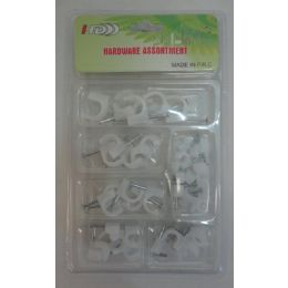 36 Units of Hardware Assortment [cable Clips] - Wires