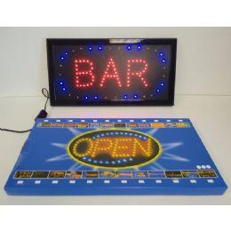6 Units of Light Up SigN-Bar - Displays & Fixtures