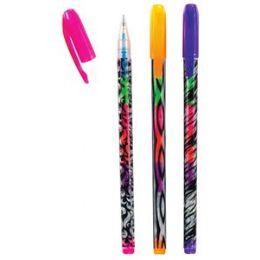 72 Wholesale Wild Neon Rainbow Gel Pen