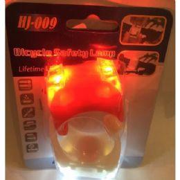 36 Units of 2 Pack Rubber Adjustable Bike Light Led - Sports Toys