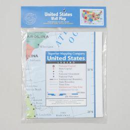 72 Bulk 40x24 United States Wall Map