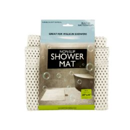 18 Units of NoN-Slip Shower Mat With Suction Cups - Bath Mats