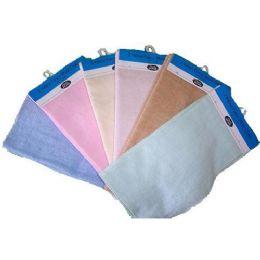 144 Units of 2 Pk 12x12 Velour Wash Cloth Assts - Towels