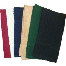 144 Units of 16x27 Salon Solid Color Hand ToweL- 2.75 Lb Dozen - Towels