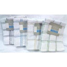 82 Units of 2 Pk 12x12 Heavy Yarn Dyed DishclotH-Negative - Towels