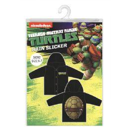 12 Units of Ninja Turtles Rain Slicker - Junior Kids Winter Wear
