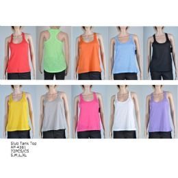 144 Units of Women's Fashion Tank Tops In Assorted Colors And Sizes - Womens Camisoles & Tank Tops