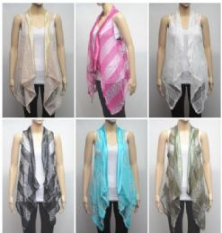72 of Women's Glitter Fashion Shrug