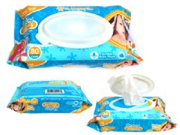 24 Units of Baby Wipe 80counts - Baby Accessories
