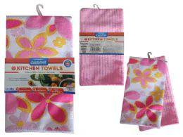 72 Units of 2 Piece Kitchen Towel - Kitchen Towels
