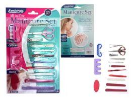 144 Bulk 15 Pieces Manicure Set