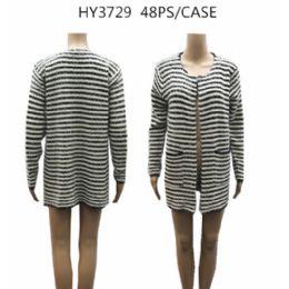 24 of Ladies Winter Knit Cardigan
