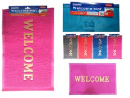 48 Units of Welcome Floor Mat - Home Decor