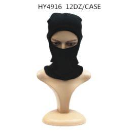 72 Units of Winter Black Ski Hat - Unisex Ski Masks
