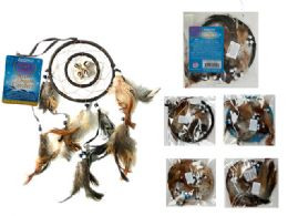 288 Units of Dreamcatcher With Feathers And Beads - Home Decor