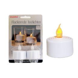 144 Bulk 2 Piece Led Tea Light Candle
