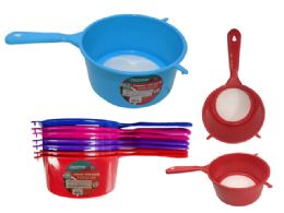 72 Units of Colander With Handle - Strainers & Funnels