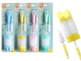 96 Units of Baby Bottle Brush & Nipple Brush Set - Baby Accessories