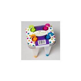 72 Units of 4pk Ice Pop Maker - Freezer Items
