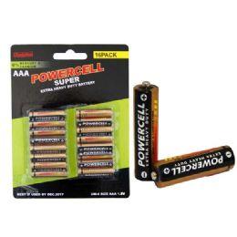 96 Units of Battery 16pk Aaa Heavy Duty - Batteries